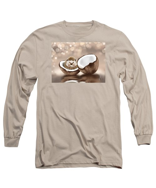 In The Coconut Long Sleeve T-Shirt by Veronica Minozzi