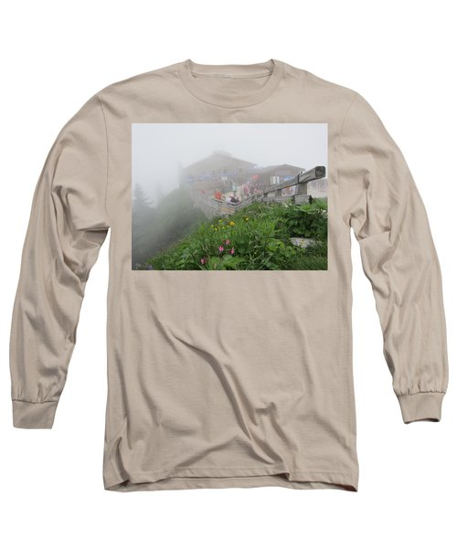 Long Sleeve T-Shirt featuring the photograph In The Mist by Pema Hou