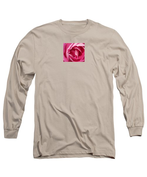 In The Pink Long Sleeve T-Shirt by Janice Westerberg