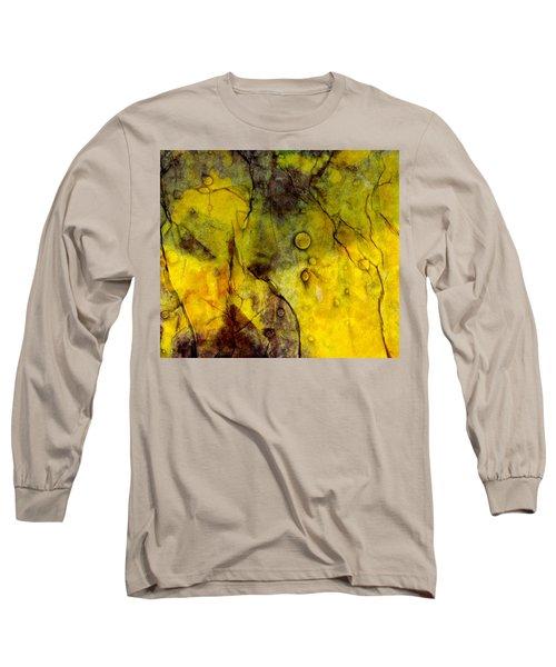 In Yellow  Long Sleeve T-Shirt by Danica Radman