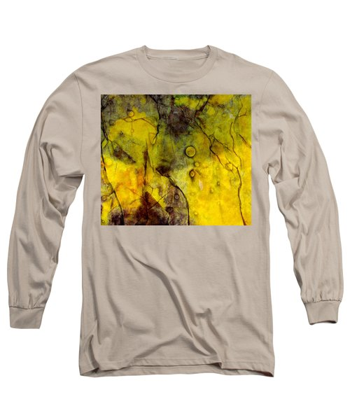 In Yellow  Long Sleeve T-Shirt