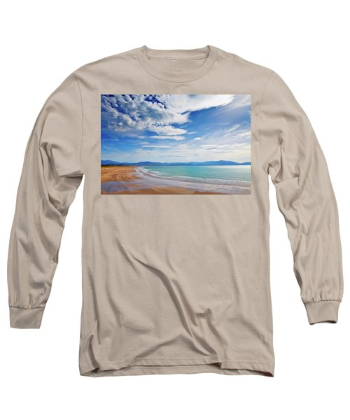 Inch Beach, Dingle Peninsula, County Long Sleeve T-Shirt