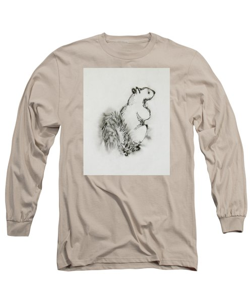Ink Squirrel Long Sleeve T-Shirt