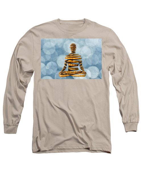 Inner Peace Long Sleeve T-Shirt by Andrea Kollo