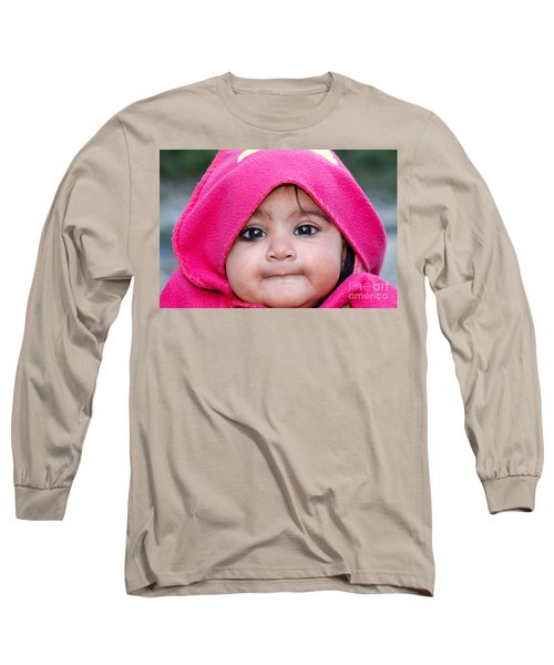 Long Sleeve T-Shirt featuring the photograph Innocence by Fotosas Photography