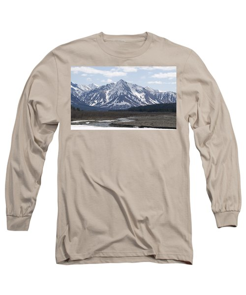 Inside Denali National Park 4 Long Sleeve T-Shirt by Tara Lynn