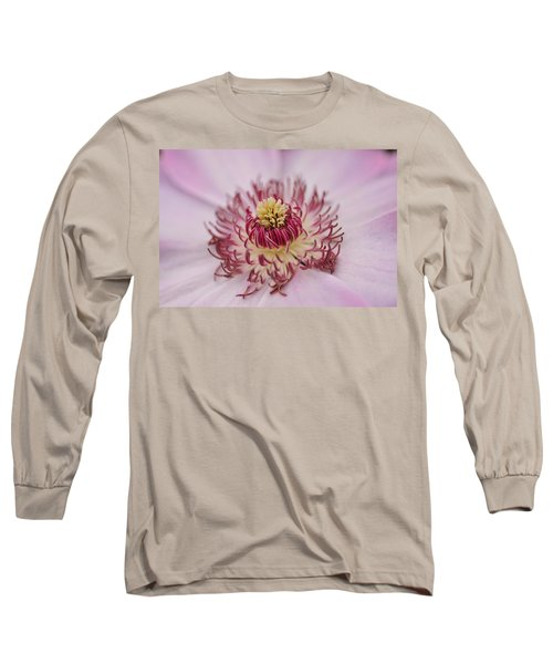 Long Sleeve T-Shirt featuring the photograph Inside The Flower by Mike Martin