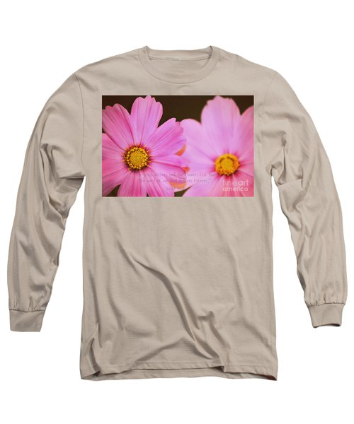 Inspirational Flower 2 Long Sleeve T-Shirt
