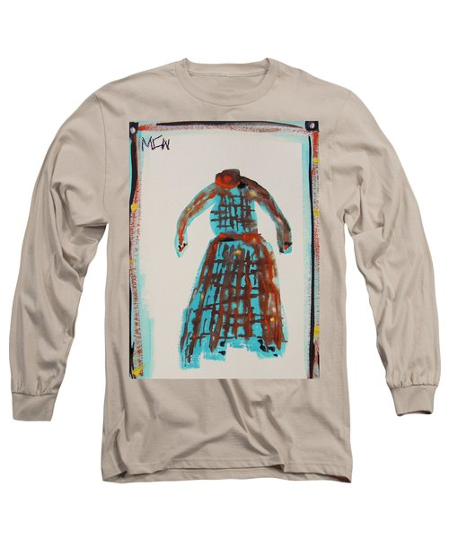 Inspired By Vuillard Long Sleeve T-Shirt by Mary Carol Williams
