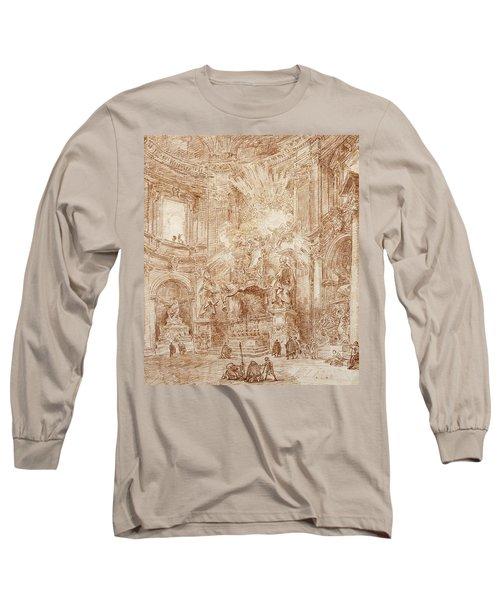 Interior Of A Church  Long Sleeve T-Shirt