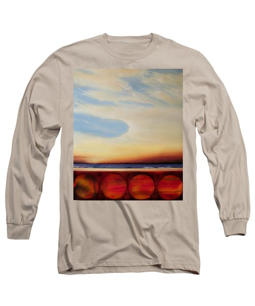 Internal Fires Long Sleeve T-Shirt by Albert Puskaric