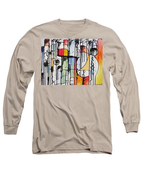 Internal Opposition Long Sleeve T-Shirt by Jason Williamson