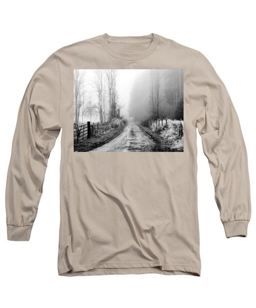 Into The Unknown Long Sleeve T-Shirt by Rory Sagner