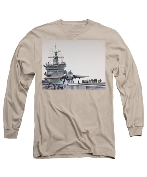Intruder Long Sleeve T-Shirt by Stan Tenney