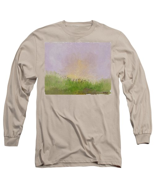 Iris Field Long Sleeve T-Shirt