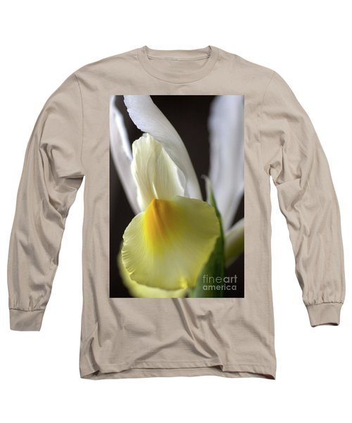 Long Sleeve T-Shirt featuring the photograph Iris Flower by Joy Watson