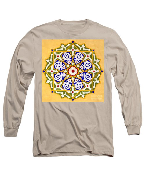 Islamic Art 09 Long Sleeve T-Shirt by Antony McAulay