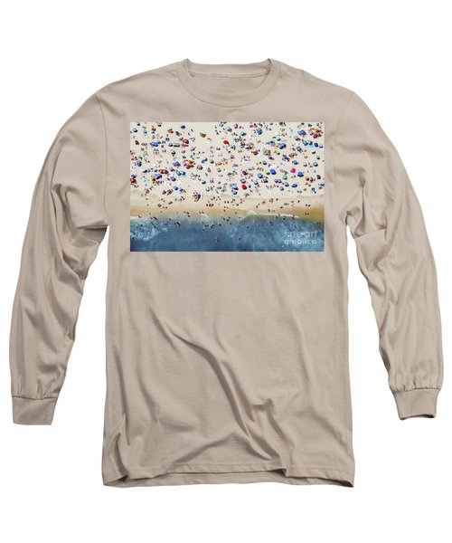 Island Beach State Park Long Sleeve T-Shirt by Mike Raabe