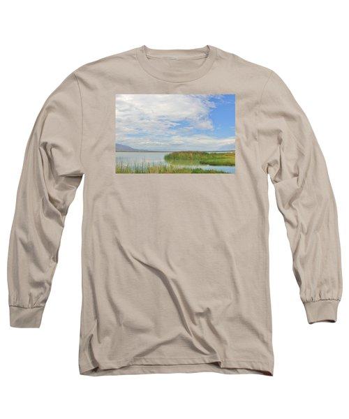 Island Peace Long Sleeve T-Shirt by Marilyn Diaz