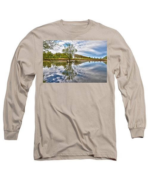 Island Tree Long Sleeve T-Shirt by Frans Blok