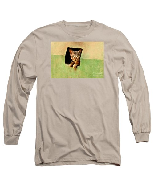 It Is My Home Long Sleeve T-Shirt by Manjot Singh Sachdeva