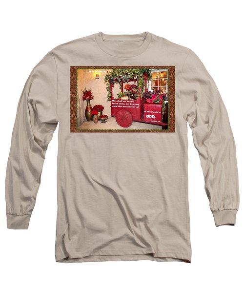 It Is Written Long Sleeve T-Shirt
