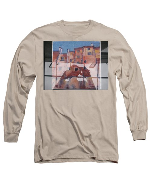 Italian Painting Reflection Long Sleeve T-Shirt
