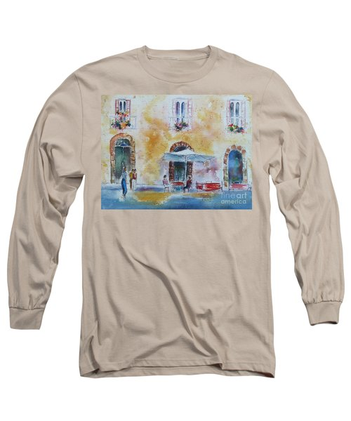 Italian Piazza Long Sleeve T-Shirt