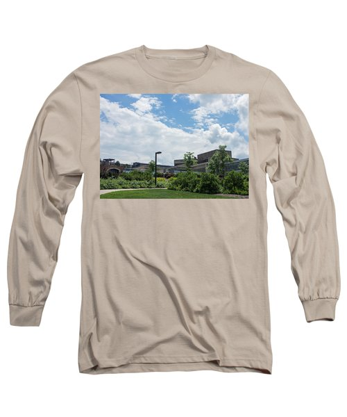 Ithaca College Campus Long Sleeve T-Shirt