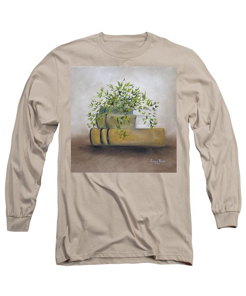 Long Sleeve T-Shirt featuring the painting Ivy League by Judith Rhue