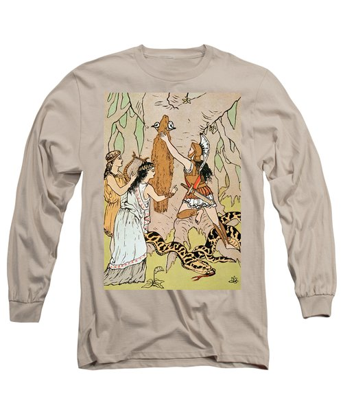 Jason Seizing The Golden Fleece Long Sleeve T-Shirt