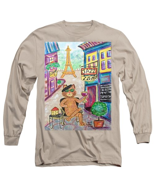 Jazz Cat Long Sleeve T-Shirt