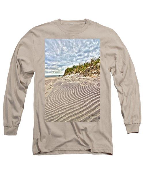 Jetty Four Dune Stripes Long Sleeve T-Shirt