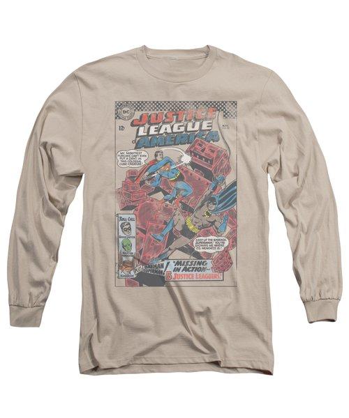 Jla - Cube Creature Long Sleeve T-Shirt