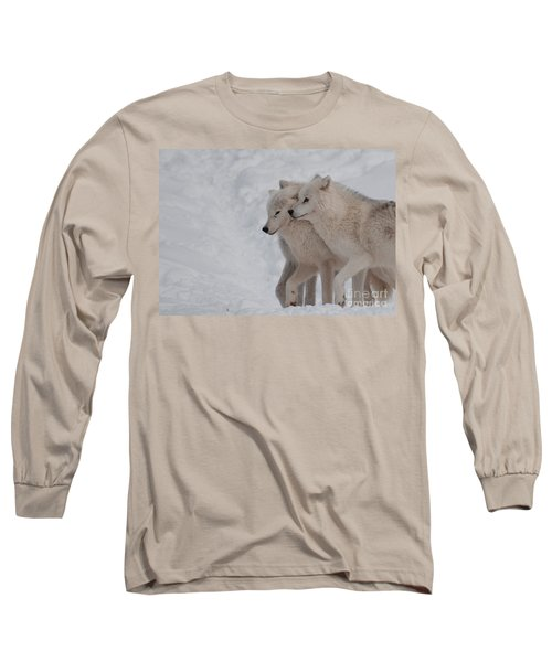 Long Sleeve T-Shirt featuring the photograph Joined At The Hip by Bianca Nadeau