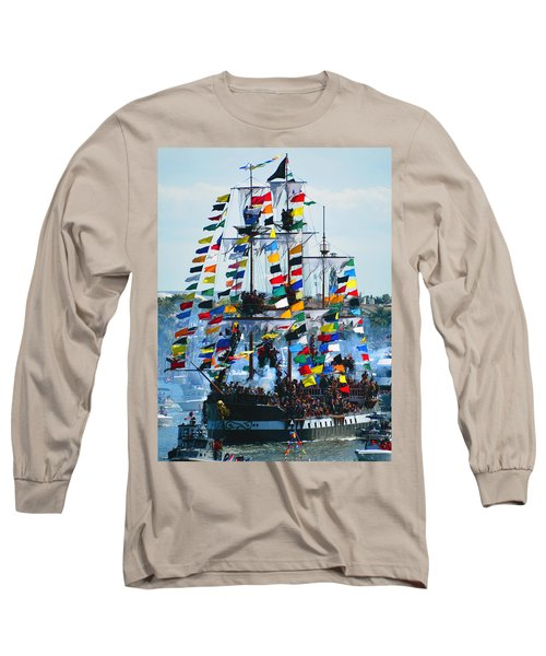 Jose Gasparilla Ship Work B Long Sleeve T-Shirt