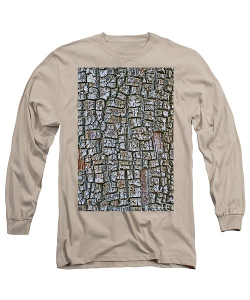 Long Sleeve T-Shirt featuring the photograph Juniper Bark- Texture Collection by Tom Janca