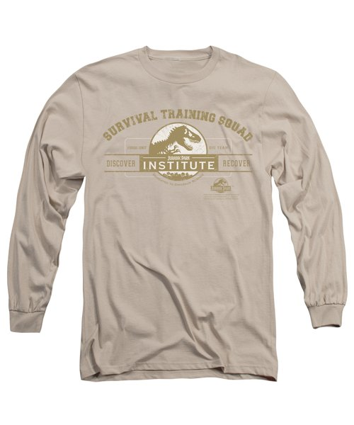 Jurassic Park - Survival Training Squad Long Sleeve T-Shirt by Brand A