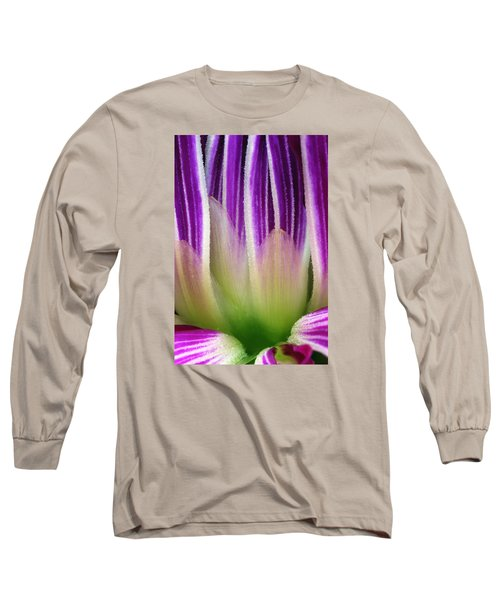 Long Sleeve T-Shirt featuring the photograph Just A Dahlia 1 by Wendy Wilton