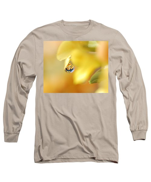 Just A Drop Of Spring Long Sleeve T-Shirt by Susan Capuano