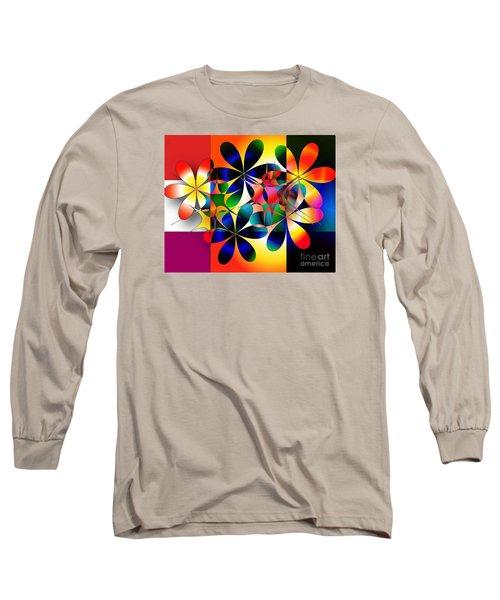 Just A Note Long Sleeve T-Shirt by Iris Gelbart