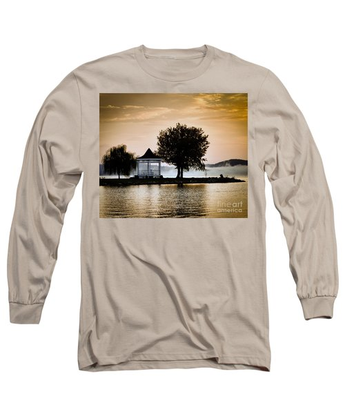 Just Before Sunrise Long Sleeve T-Shirt by Kerri Farley