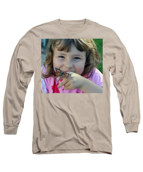 Just Cute Long Sleeve T-Shirt by Shoal Hollingsworth