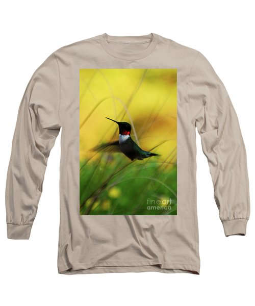 Just Flying Long Sleeve T-Shirt