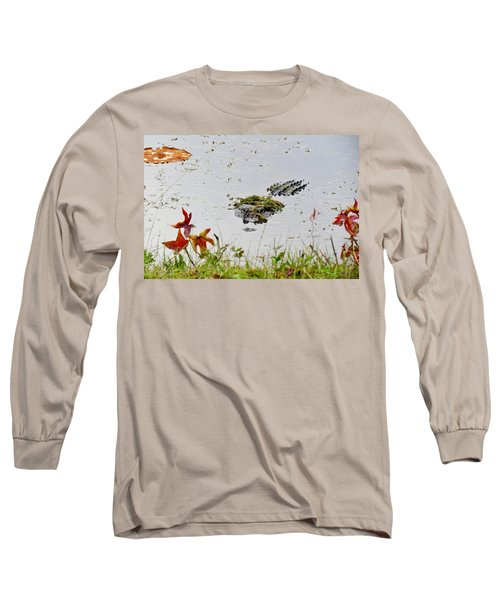 Long Sleeve T-Shirt featuring the photograph Just Hanging Out by Cynthia Guinn