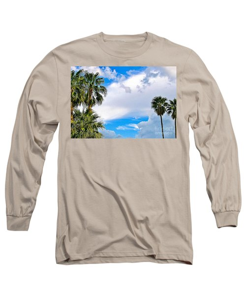 Just Mingling Long Sleeve T-Shirt by Angela J Wright