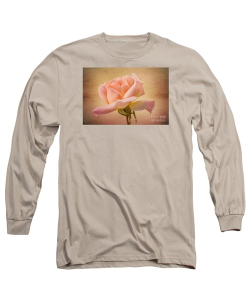 Just Peachy Long Sleeve T-Shirt by Clare Bambers