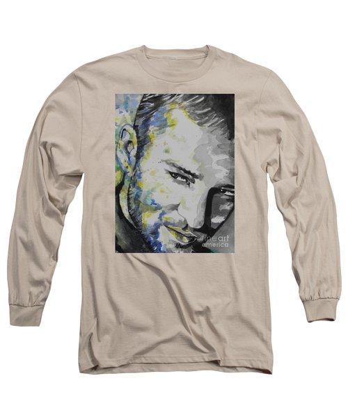 Justin Timberlake...02 Long Sleeve T-Shirt by Chrisann Ellis