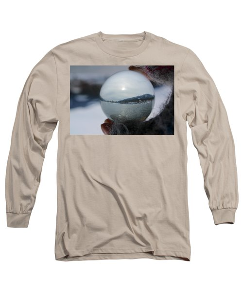 Kaslo Winter Long Sleeve T-Shirt by Cathie Douglas