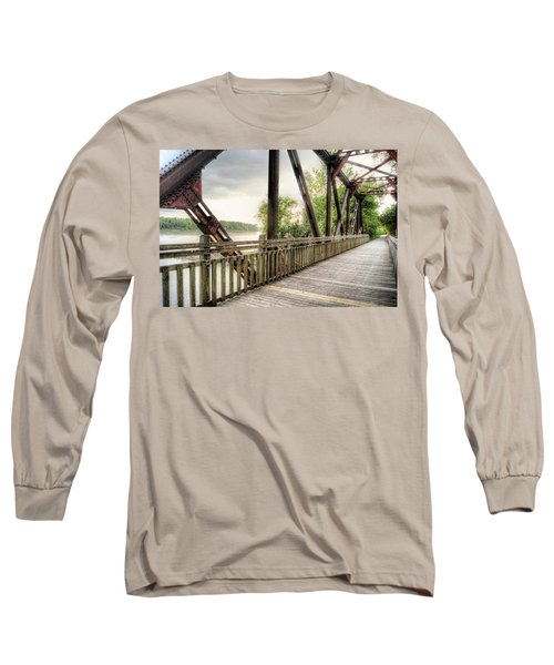 Katy Trail Near Easley Long Sleeve T-Shirt